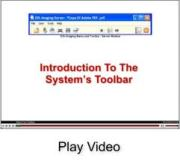 Video on our toolbar